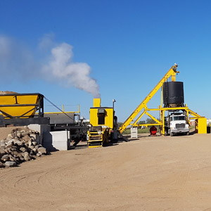We have a hot mix asphalt plant located in Yorkton to provide high quality competitively priced asphalt. We sell a variety of designed asphalt mixes to suit whatever your project requires. We supply large and small quantities to independent contractors as well as municipalities and towns. Call or e-mail us today to inquire about pricing and availability.